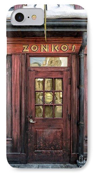 Zonkos Joke Shop Hogsmeade IPhone Case by Edward Fielding