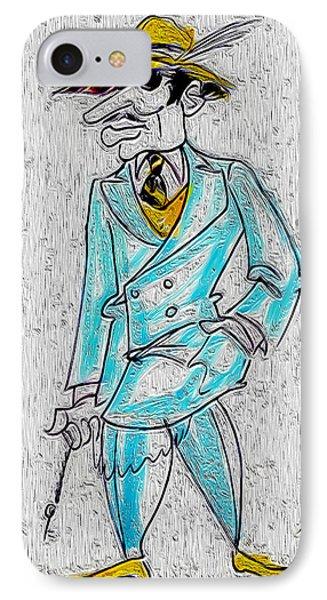 Zoot Suit Washington Dc Circa 1940s IPhone Case