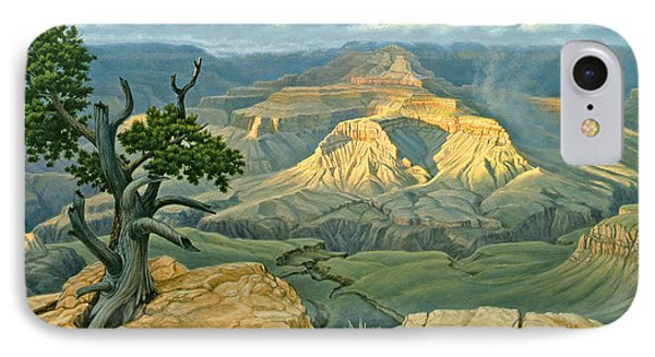 Zoroaster Temple From Yaki Point IPhone Case by Paul Krapf
