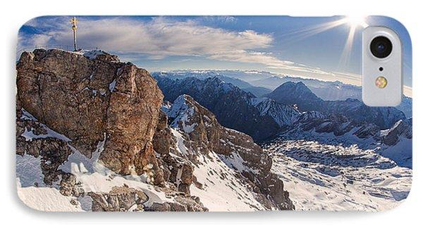 Zugspitze Summit IPhone Case