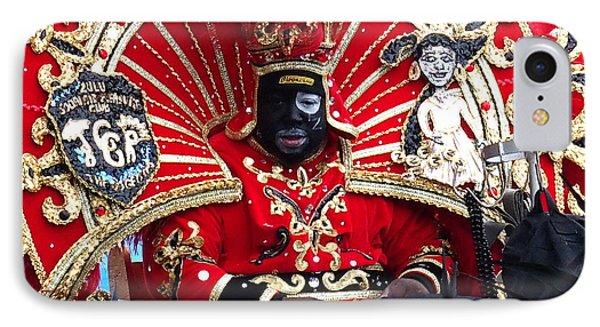 Zulu Mardi Gras IPhone Case