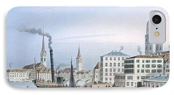 Zurich IPhone Case by Swiss School