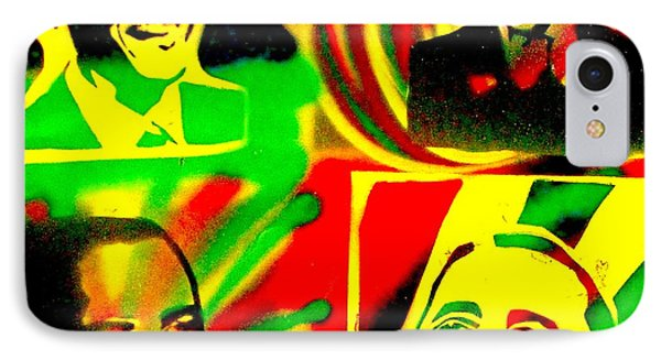 4 Rasta Obama Phone Case by Tony B Conscious