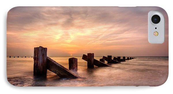 IPhone Case featuring the photograph  Abermaw Sunset by Beverly Cash