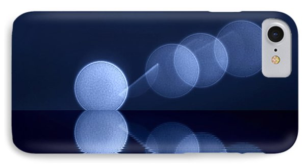 IPhone Case featuring the digital art  Abstract Lights by Odon Czintos
