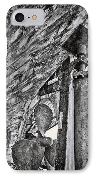 Boat Propeller Phone Case by Stelios Kleanthous