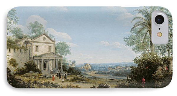 Brazilian Landscape IPhone Case by Frans Jansz Post