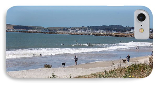 California Beach Phone Case by Carolyn Donnell