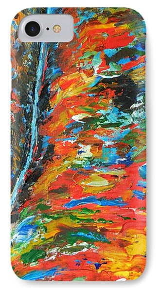 IPhone Case featuring the painting  Canyon River by Everette McMahan jr