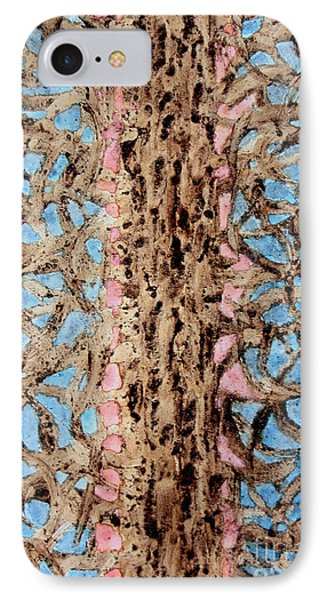 Coffee Trees Phone Case by TB Schenck