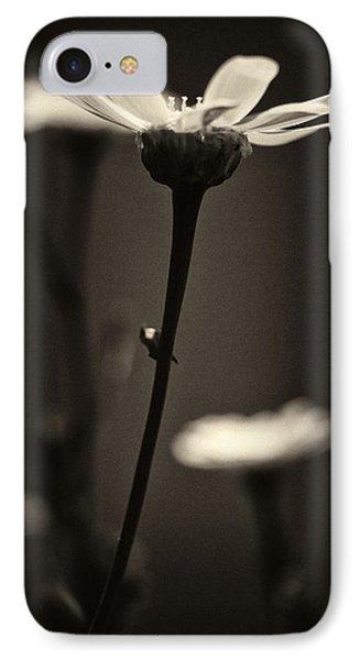 Dark Daisy  IPhone Case by Stelios Kleanthous