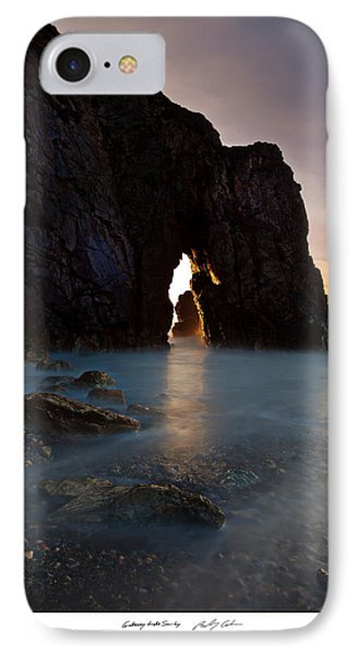 Gateway To The Sun IPhone Case by Beverly Cash