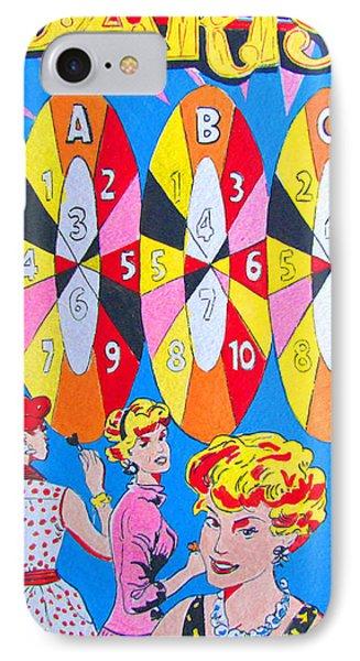 Girl Darts IPhone Case