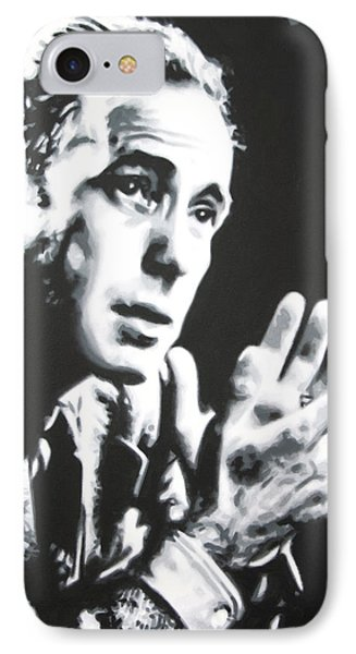 - Humprey Bogart - IPhone Case by Luis Ludzska
