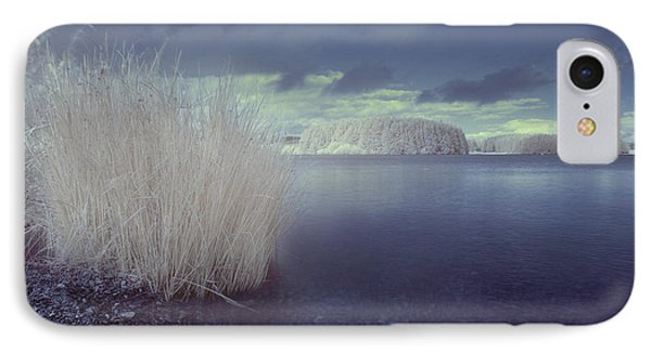 IPhone Case featuring the photograph  Infrared At Llyn Brenig by Beverly Cash
