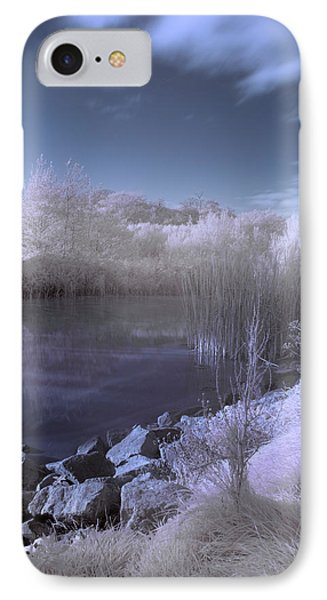 IPhone Case featuring the photograph  Infrared Pond by Beverly Cash
