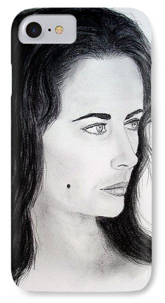 Liz Taylor Portrait IPhone Case