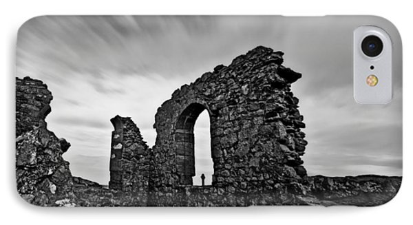 Llanddwyn Island Ruins IPhone Case by Beverly Cash