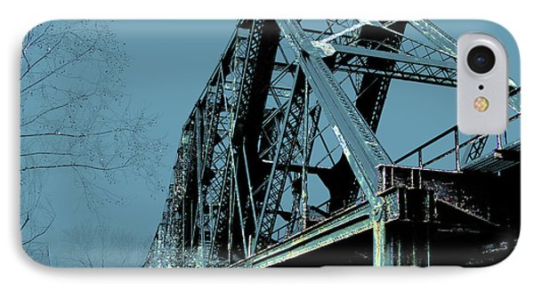 Mississippi River Rr Bridge At Memphis IPhone Case