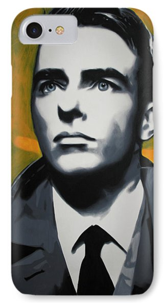 - Montgomery Clift - IPhone Case by Luis Ludzska