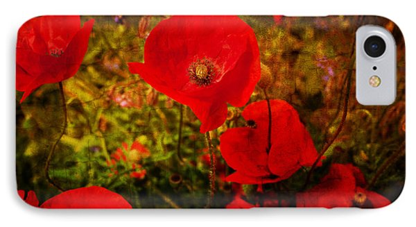 IPhone Case featuring the photograph  Poppies by Beverly Cash