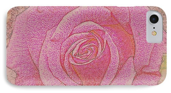 Rose IPhone Case by Tanya  Searcy