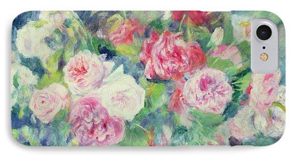 Roses Phone Case by Pierre Auguste Renoir