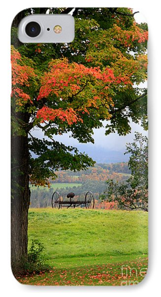IPhone Case featuring the photograph  Scenic New England In Autumn by Karen Lee Ensley