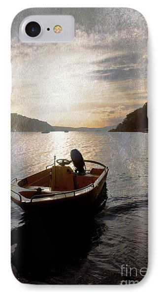 Sunset At Careel Bay Phone Case by Avalon Fine Art Photography