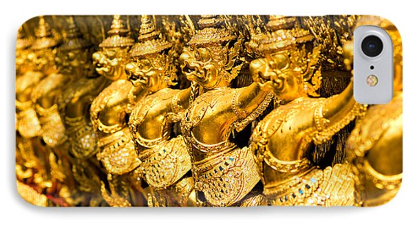 IPhone Case featuring the photograph  Wat Phra Kaeo by Luciano Mortula