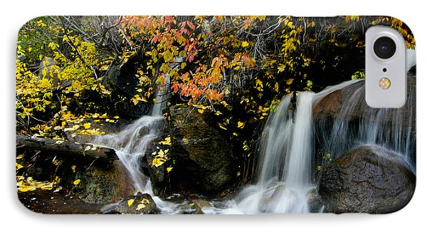 IPhone Case featuring the photograph  Waterfall by Mitch Shindelbower
