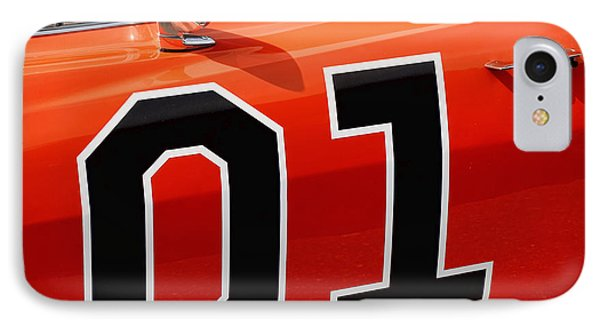 01 - The General Lee 1969 Dodge Charger Phone Case by Gordon Dean II