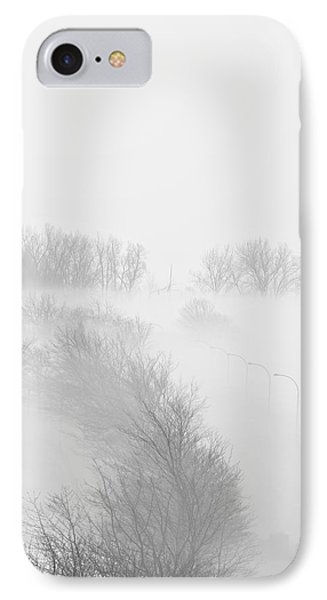 023 Buffalo Ny Weather Fog Series Phone Case by Michael Frank Jr