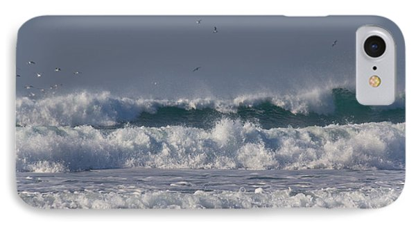 Porthtowan Cornwall Phone Case by Brian Roscorla