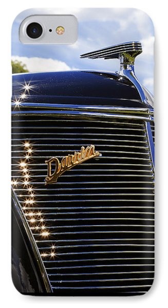 1937 Ford Model 78 Cabriolet Convertible By Darrin Phone Case by Gordon Dean II