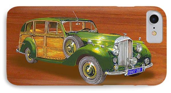 1947 Bentley Shooting Brake Phone Case by Jack Pumphrey