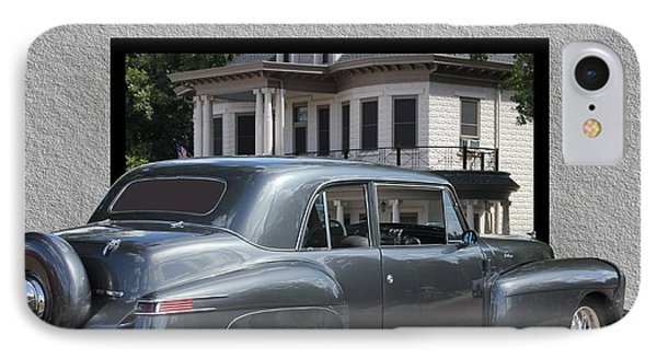 1947 Lincoln Continental Coupe IPhone Case by Betty Northcutt