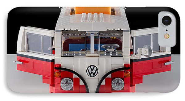 1962 Vw Lego Bus Phone Case by Noah Katz