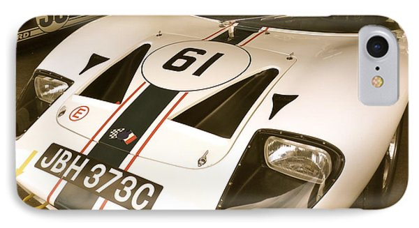 IPhone Case featuring the photograph 1965 Ford Gt40 by John Colley