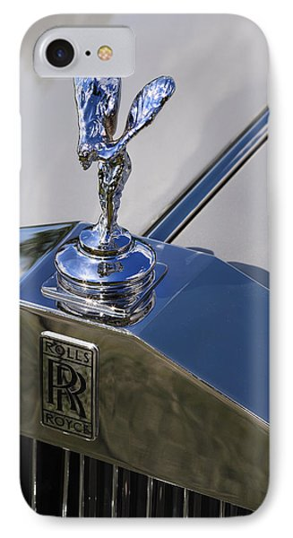 IPhone Case featuring the photograph 1965 Rolls Royce Silver Cloud IIi Mpw Coupe by Gordon Dean II