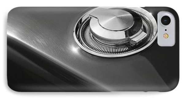 IPhone Case featuring the photograph 1968 Dodge Charger Fuel Cap by Gordon Dean II