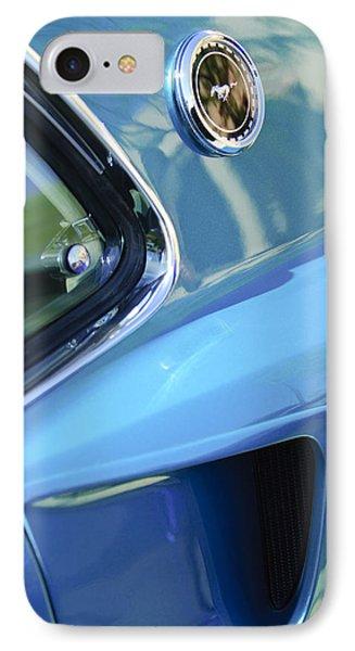 1969 Ford Mustang Mach 1 Emblem 2 Phone Case by Jill Reger