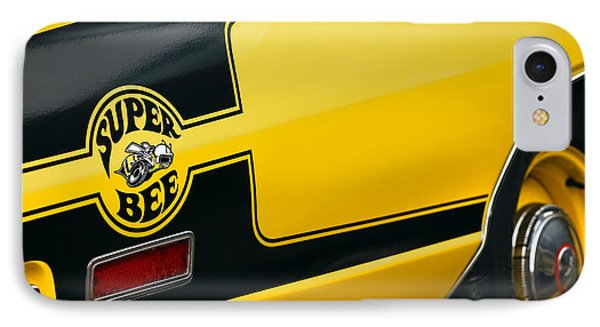 IPhone Case featuring the photograph 1970 Dodge Coronet Super Bee by Gordon Dean II