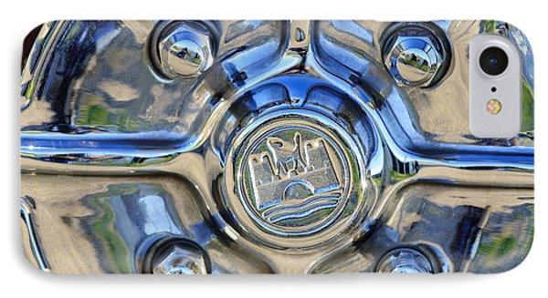 1970 Volkswagen Vw Karmann Ghia Wheel Phone Case by Jill Reger