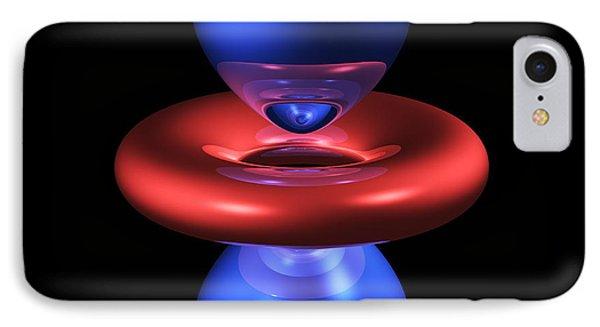 3dz2 Electron Orbital Phone Case by Dr Mark J. Winter