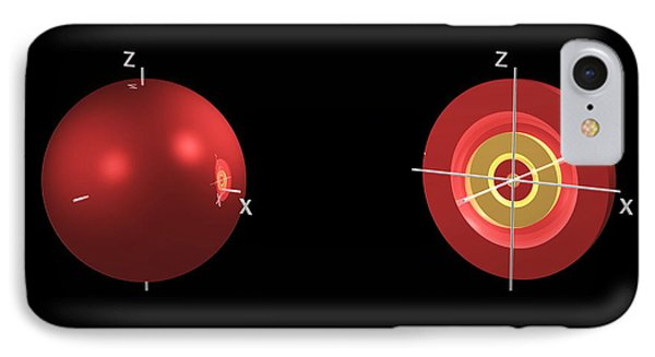 4s Electron Orbital Phone Case by Dr Mark J. Winter