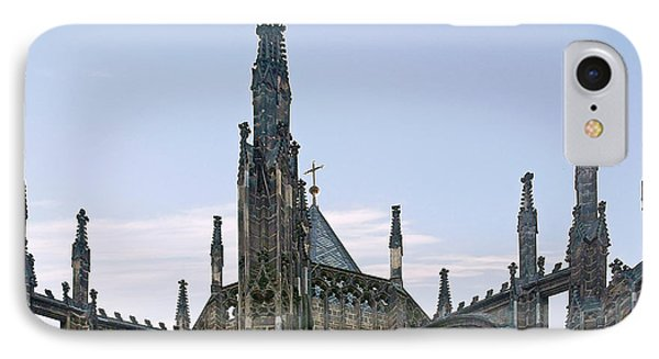 A Forest Of Spires - St Vitus Cathedral Prague Phone Case by Christine Till
