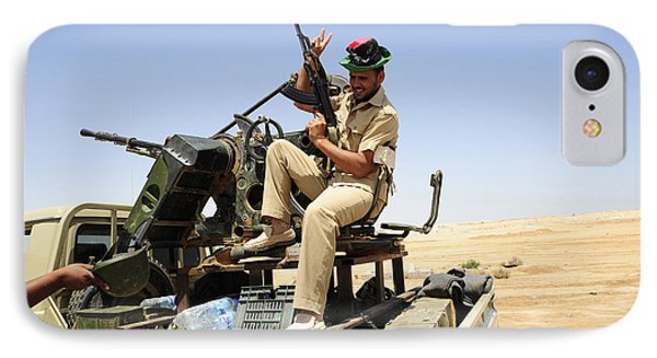A Free Libyan Army Pickup Truck Phone Case by Andrew Chittock
