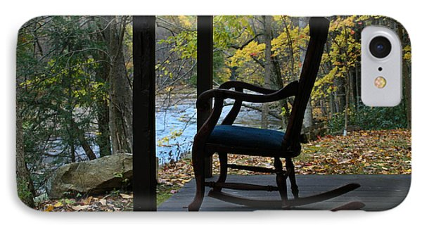 IPhone Case featuring the photograph A Perfect Seat by Cheryl Perin