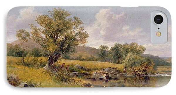 A River Landscape IPhone Case